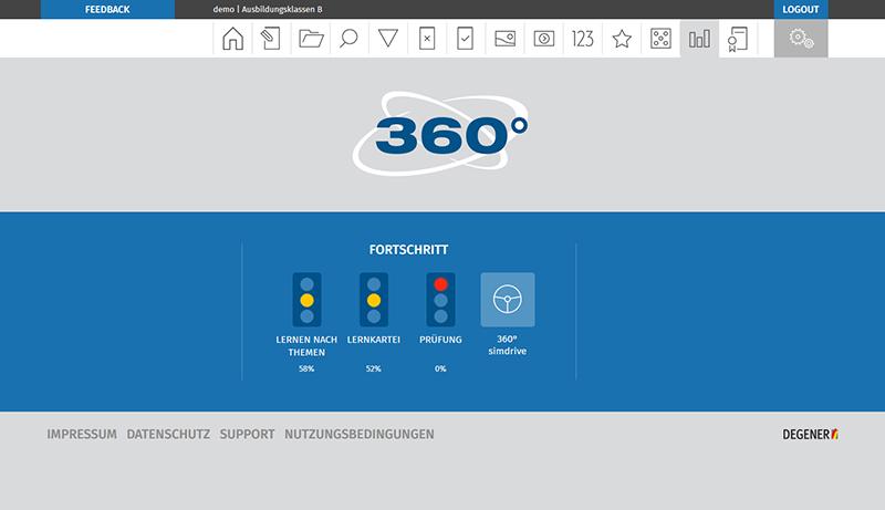 Willkommen Click Learn 360 Online