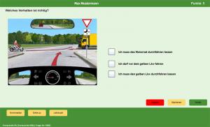360° online Fragenscreen