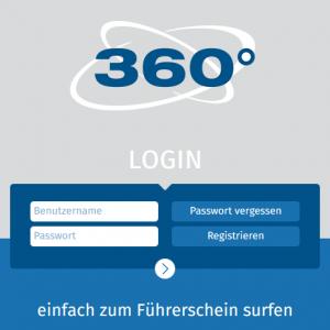 360° online Login